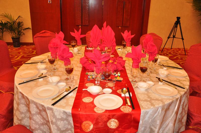 婚宴摆台主题设计